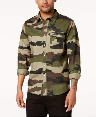 Sean John Men Camo Shirt