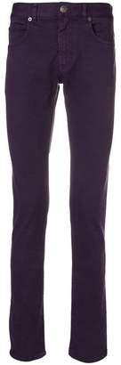 Versace slim fit trousers