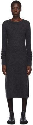 Acne Studios Grey Mohair Kathilde Dress