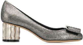 Salvatore Ferragamo chunky heel pumps