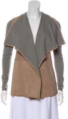Ralph Lauren Cashmere Suede-Accented Jacket w/ Tags
