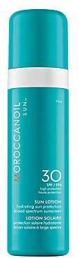 Moroccanoil Women's Sun Lotion SPF 30 Hydrating Sun Protection Broad Spectrum Sunscreen