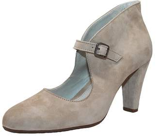 Eric Michael Suede Mary Jane $160 thestylecure.com