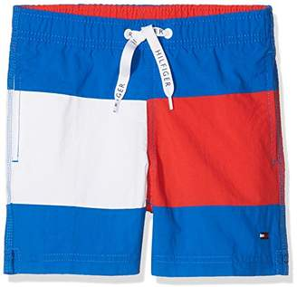 Tommy Hilfiger Boy's Medium Drawstring Swim Shorts,(Manufacturer Size: 8-10)