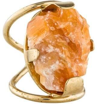 Elie Saab Calcite Cocktail Ring