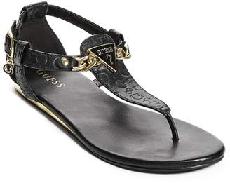 Factory Guess Women's Sara Logo Sandals