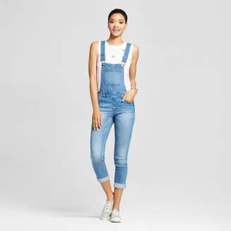Dollhouse Women's Roll Cuff Skinny Overalls - Dollhouse (Juniors') $39.99 thestylecure.com
