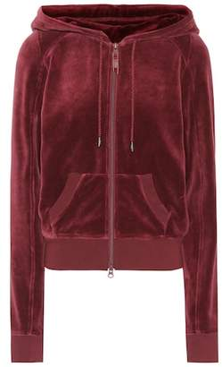 Rihanna Fenty by Hooded velour jacket