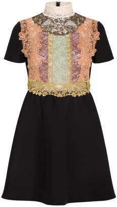 Valentino Lace Front Dress