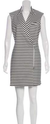 Veronica Beard Stripe Mini Dress