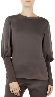 Ted Baker Ted Says Relax Tiliey Puff-Sleeve Top