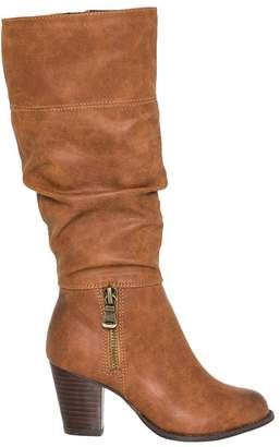 Le Château Women's Leather-Like Slouchy Knee-High Boot