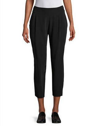 Eileen Fisher Crinkle Crepe Slouch Pants