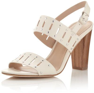 Via Spiga Lynne Perforated-Strap Sandal