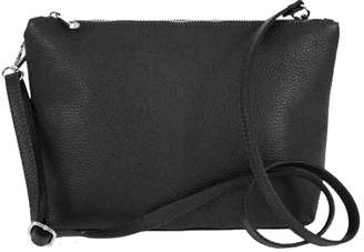 Brix And Bailey Premium Smooth Leather Cross Body Handbag Purse