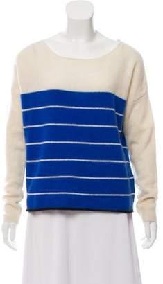 360 Cashmere Stripe Cashmere Sweater