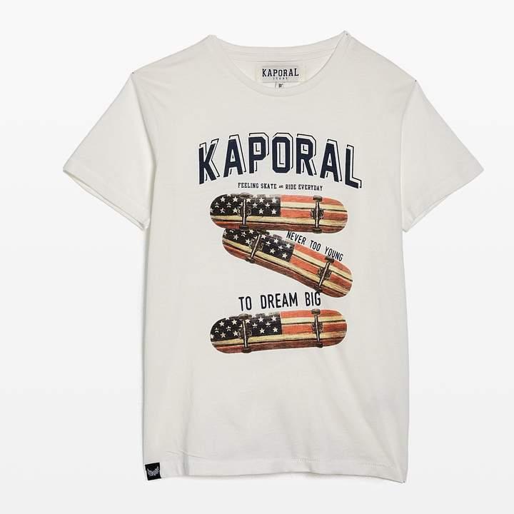Road - Kurzärmeliges T-Shirt - weiß