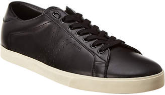 Celine Triomphe Lace-Up Leather Sneaker