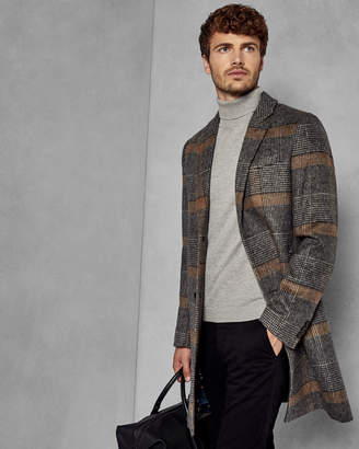 Ted Baker FRAIS Checked overcoat