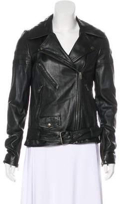 Bergdorf Goodman Leather Moto Jacket