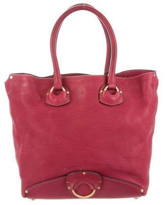 Ghurka Claret Leather Tote