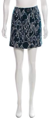 Jason Wu Grey by Wool Mini Skirt