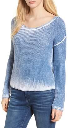 Splendid Misty Burnout Sweater