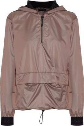 Koral Ground Anorak Mesh-Paneled Shell Hooded Jacket