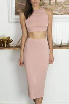 Cosabella Crop-Top & Skirt Set