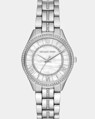 Michael Kors Lauryn Silver-Tone Analogue Watch