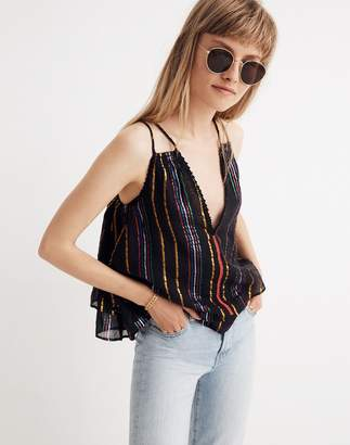 Madewell Apiece Apart Luna Shirred Cami Top