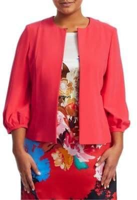 Marina Rinaldi Marina Rinaldi, Plus Size Carolina Puff-Sleeve Jacket
