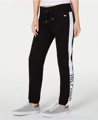 Tommy Hilfiger Logo-Print Sweatpants