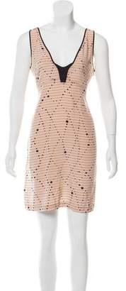 Vena Cava Silk Mini Dress