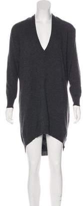 Brunello Cucinelli Long Sleeve Sweater Dress