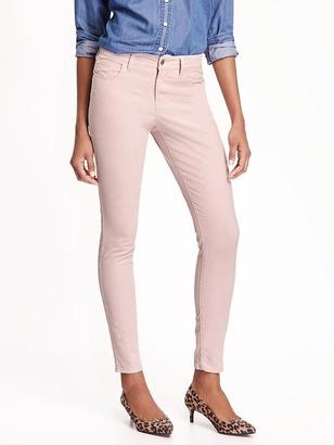 Mid-Rise Rockstar Cord Skinny Jeans for Women $34.94 thestylecure.com