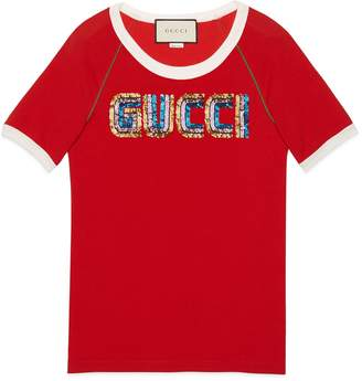 Gucci T-shirt with appliqué