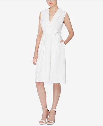 Catherine Catherine Malandrino Faux-Wrap Shirtdress $128 thestylecure.com
