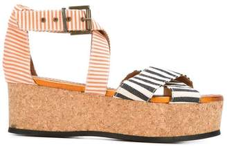 Mini Market Minimarket 'Mirage' platform sandals