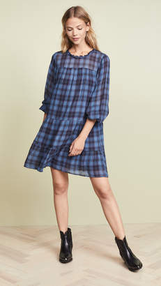 Velvet Martina Plaid Dress