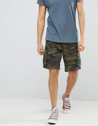 Next Cargo Shorts In Camo