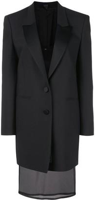 Neil Barrett tuxedo jacket dress