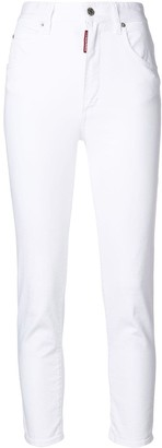 DSQUARED2 high-waisted Twiggy jeans