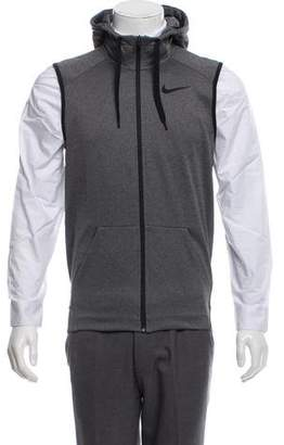 Nike Hooded Zip-Up Vest