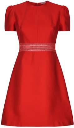 Sandro Lace Insert Mini Dress