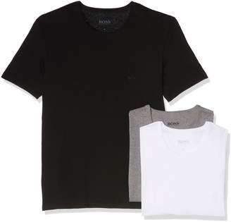 HUGO BOSS Men's Three Pack of T-Shirts L Black//grey