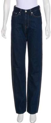 Calvin Klein Jeans EST. 1978 Mid-Rise Straight-Leg Jeans