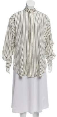 Etro Silk Striped Tunic