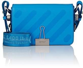 Women's Binder-Clip Mini Leather Crossbody Bag