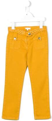 Chloé Kids slim-fit trousers